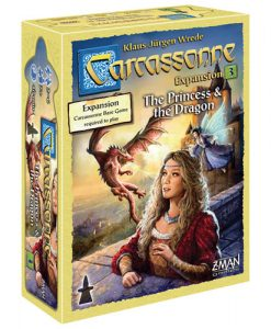 Carcassonne Extension 3 Princesse et Dragon