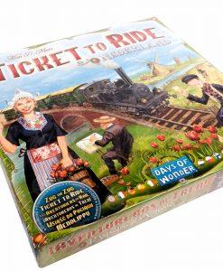 Les Aventuriers du Rail : Pays-Bas Kajjjibi