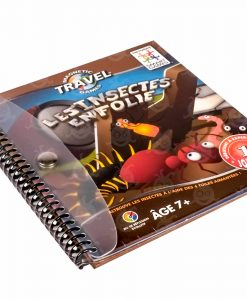Magnetic Travel Games Les Insectes en Folie Kajjjibi